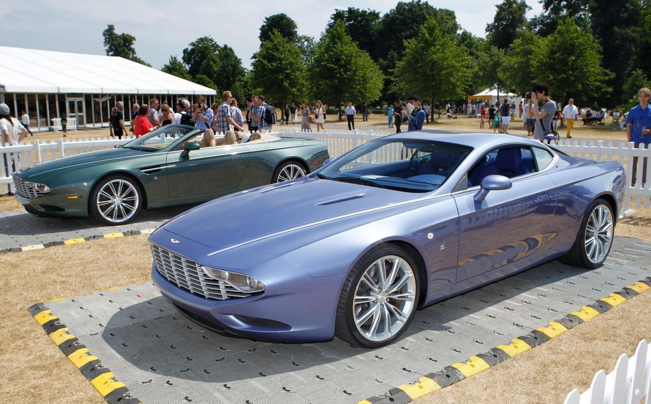 Aston Martin Dbs And Db9 Zagato Centennial Edtions