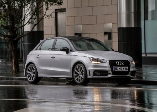 Audi A1 S line Competition-white