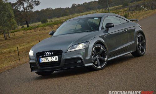 2013 Audi TT Coupe S line Competition review (video)