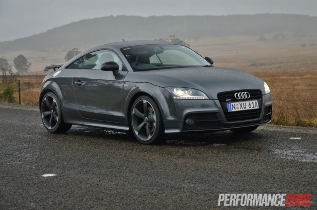 Audi TT S line Competition Oolong Grey