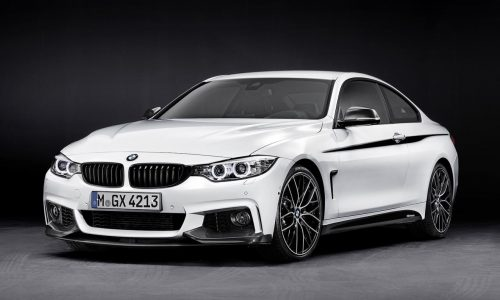 BMW 4 Series M Performance accessories revealed