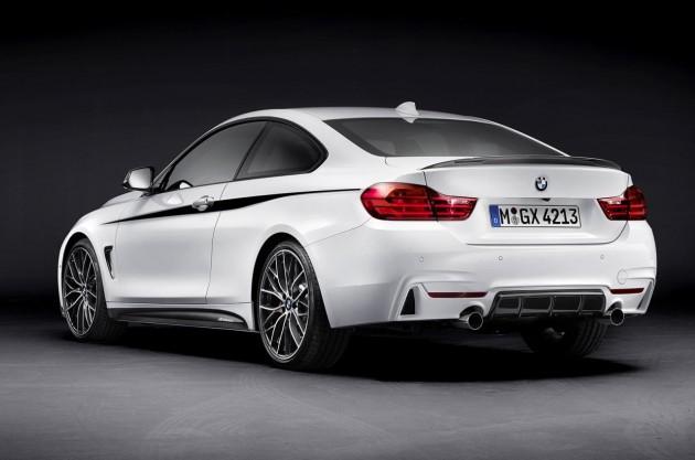 BMW 4 Series M Performance rear