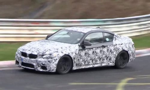 Video: BMW M4 prototype spotted on the Nurburgring