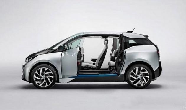 BMW i3 production car-interior