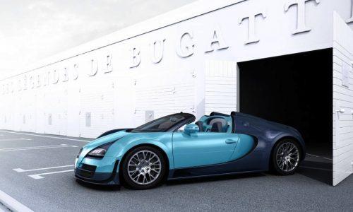 Bugatti Veyron Legend Jean-Pierre Wimille edition revealed