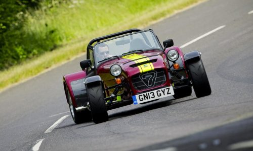 Caterham Seven 620R revealed, most powerful ever