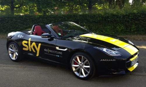 Tour de France winner Chris Froome given a Jaguar F-Type