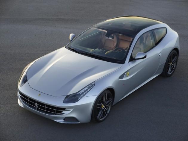 Ferrari FF glass roof option