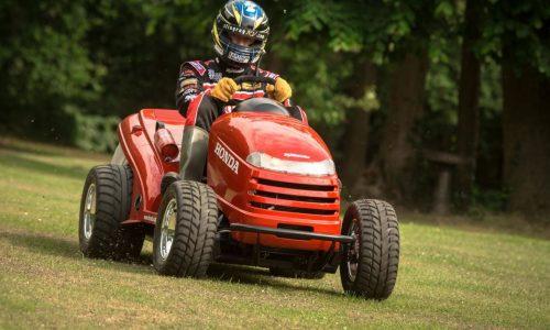 Honda 'Mean Mower' revealed, fastest mower in the world? (video)