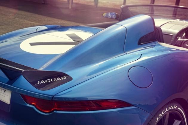 Jaguar Project 7 concept taillights