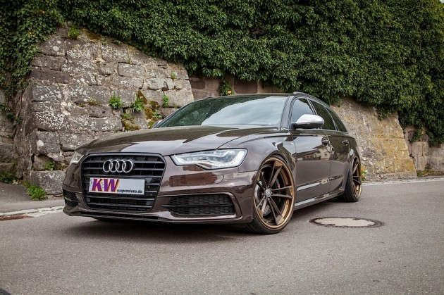 KW Audi A6 Avant with 21in wheels