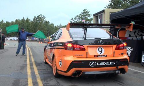Video: Lexus IS F CCS-R at the 2013 Pikes Peak climb