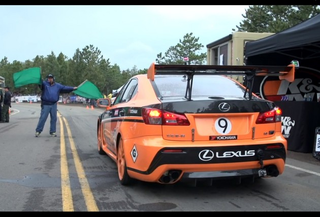 Lexus IS F CCS-R at 2013 Pikes Peak