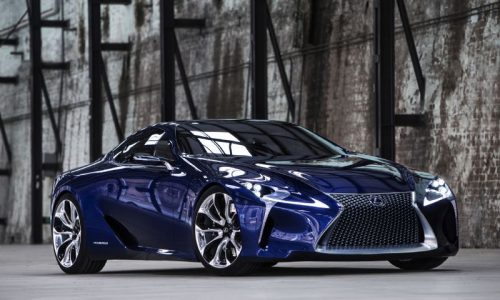Lexus LF-LC Concept set to replace LFA – report