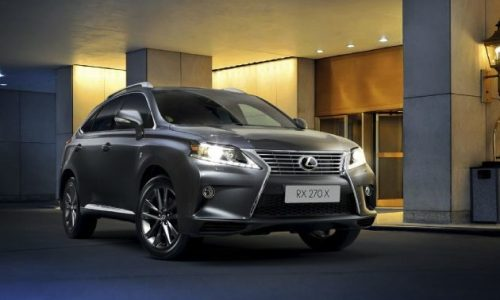 Lexus RX 270 'X' Special Edition now on sale in Australia