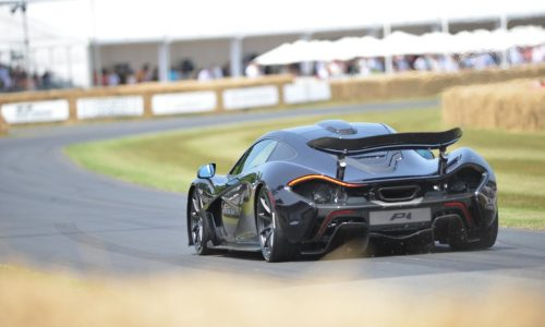 Video: McLaren P1 makes driving debut with Jenson Button