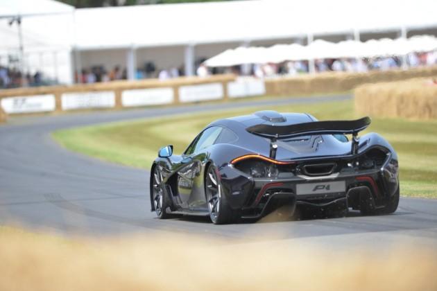 McLaren P1 at 2013 Goodwood Festival-rear