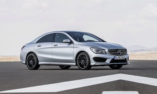 Mercedes-Benz CLA-Class on sale in October from $49,900