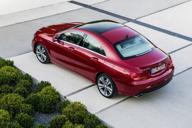Mercedes-Benz CLA-Class rear