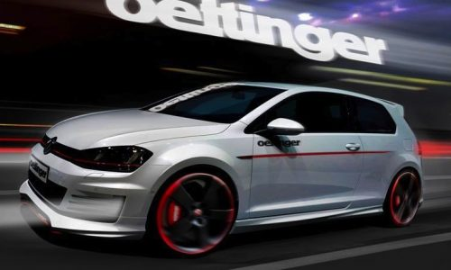 Oettinger previews Volkswagen Golf GTI Mk7 tune; 257kW