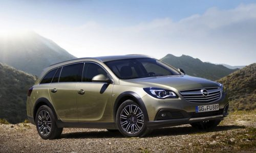 Opel Insignia Country Tourer revealed, 4×4 and 20mm higher