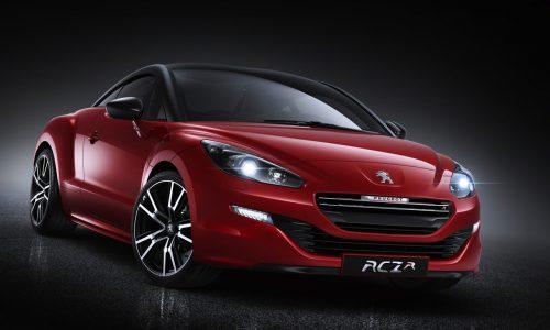 Peugeot RCZ R road car revealed before Goodwood debut