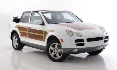Porsche Cayenne convertible conversion announced