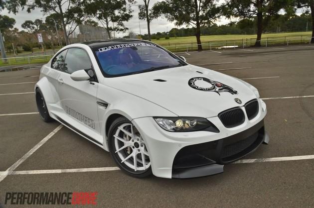 RamSpeed BMW M3 Vorsteiner widebody
