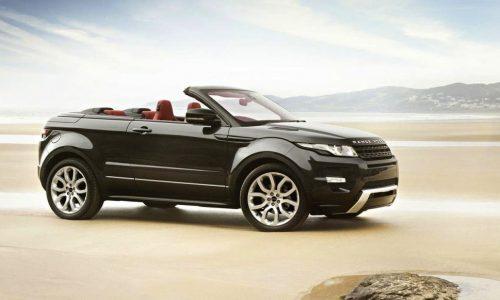 Range Rover Evoque convertible given green light – report