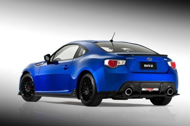Subaru BRZ Sports Pack-rear