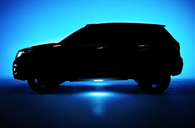 Suzuki iV-4 concept preview side