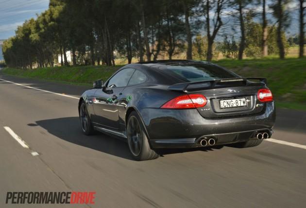 2013 Jaguar XKR-S driving