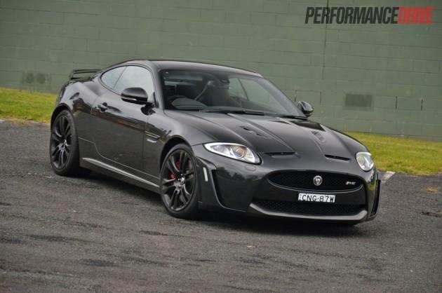 2013 Jaguar XKR-S exterior