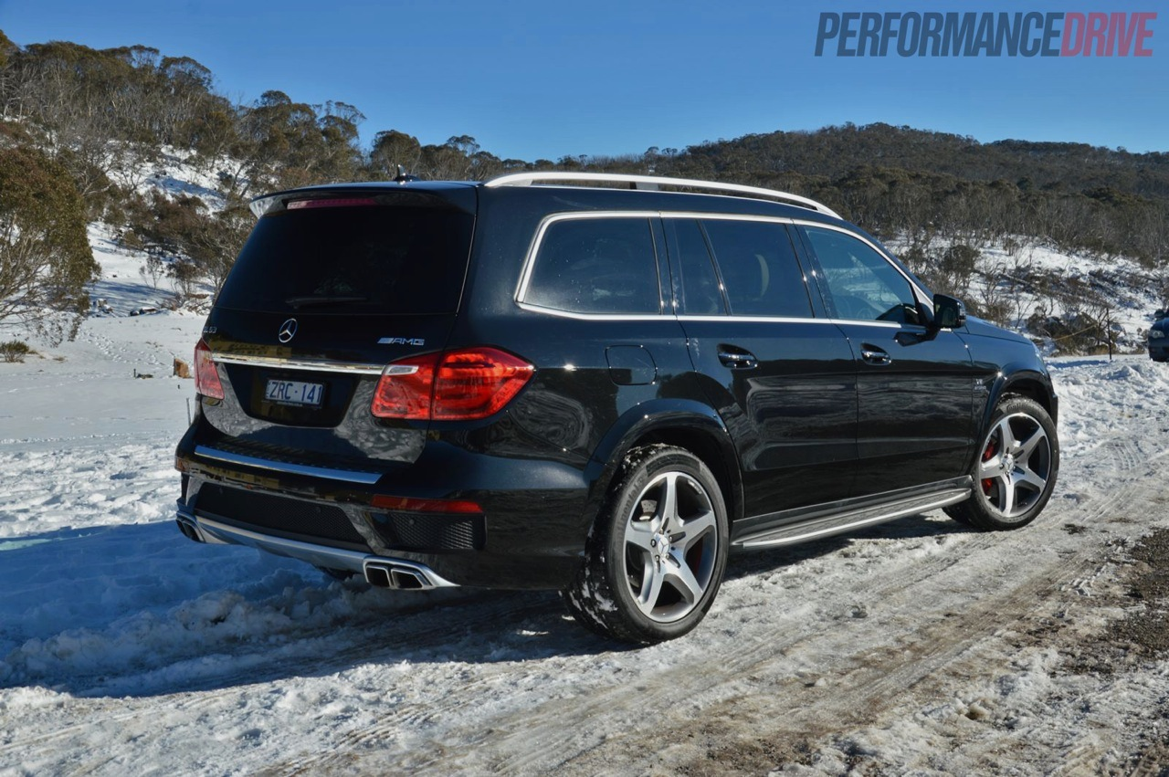 2013 Mercedes-Benz GL 63 AMG review (video) | PerformanceDrive