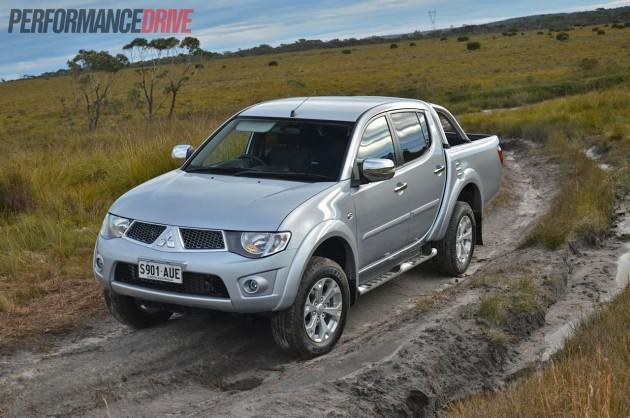 2013 Mitsubishi Triton GLX-R Cool Silver