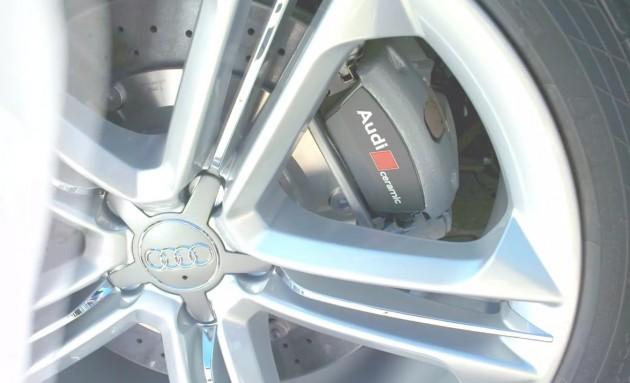 2014 Audi S8 brakes, maybe