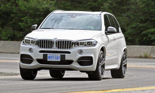 2014 BMW X5 M50d facelift more efficient, slightly quicker