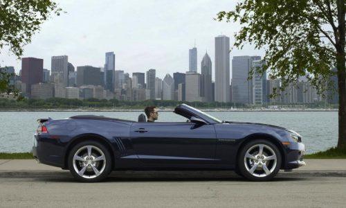 2014 Chevrolet Camaro convertible to debut at Frankfurt show