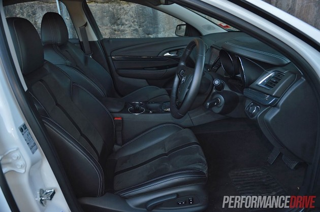 2014 Holden VF Commodore SS front seats