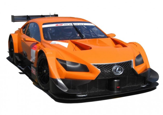 2014 Lexus LF-CC GT500 Super GT race car