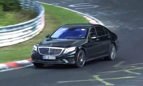 Video: 2014 Mercedes-Benz S 65 AMG prototype spotted at Nurburgring