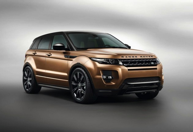 2014 Range Rover Evoque Zanzibar Bronze