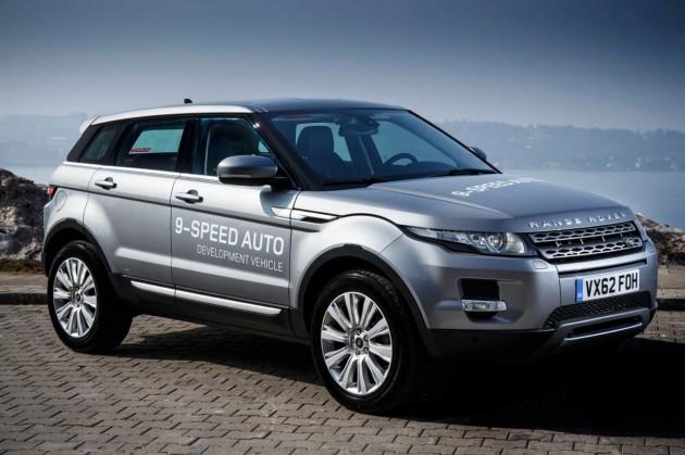 2014 Range Rover Evoque nine-speed auto