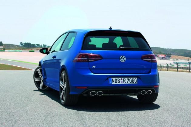 2014 Volkswagen Golf R Mk7 rear