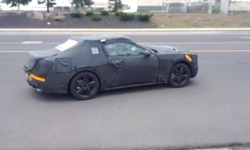 Video: 2015 Ford Mustang four-cylinder prototype spotted?