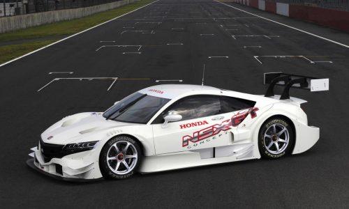 2015 Honda NSX Concept-GT Super GT racer unveiled