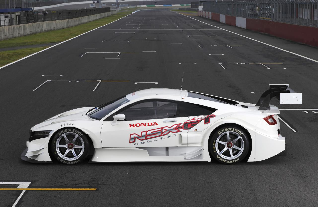 Honda Type R 2018 >> 2015 Honda NSX Concept-GT Super GT racer unveiled ...