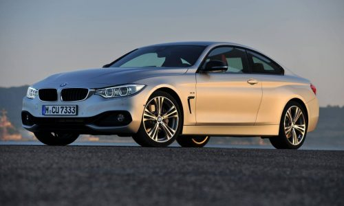 BMW 4 Series Coupe on sale in Australia in October