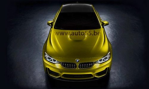 BMW M4 Coupe concept revealed in leaked image?