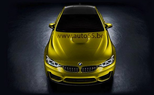BMW M4 Coupe concept maybe